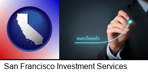 San Francisco, California - investment growth curve